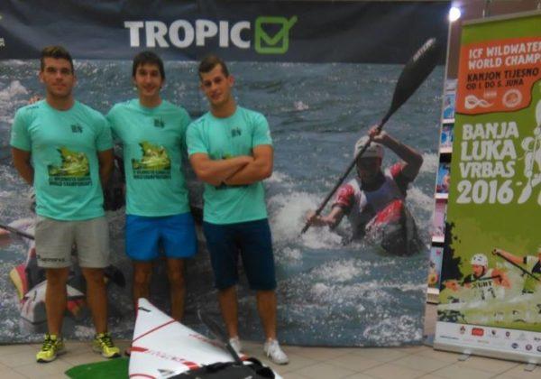 Tropic ponosni sponzor Svjetskog prvenstva u Kajaku i kanuu na divljim vodama