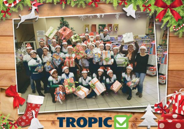 Novogodišnji paketići iz Tropica usrećili više od 500 djece