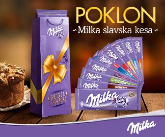 Poklon Milka slavske kese