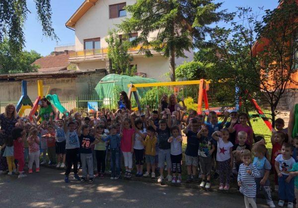 Druženje sa mališanima iz obdaništa Neven u Višegradu