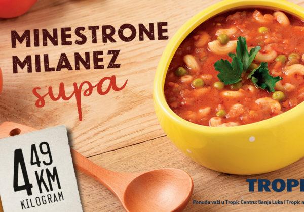 Milastrone milanez supa